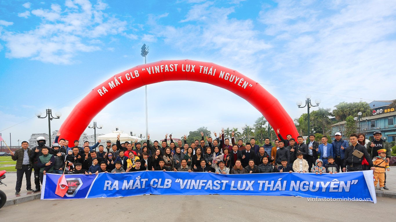 Câu lạc bộ vinfast lux thái nguyên thành lập