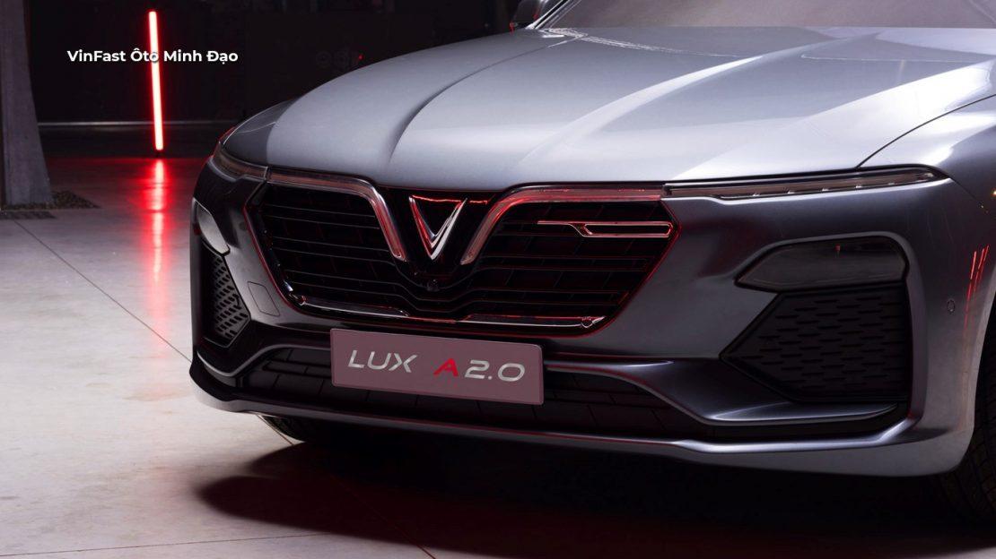 Đầu xe VinFast Lux A2.0