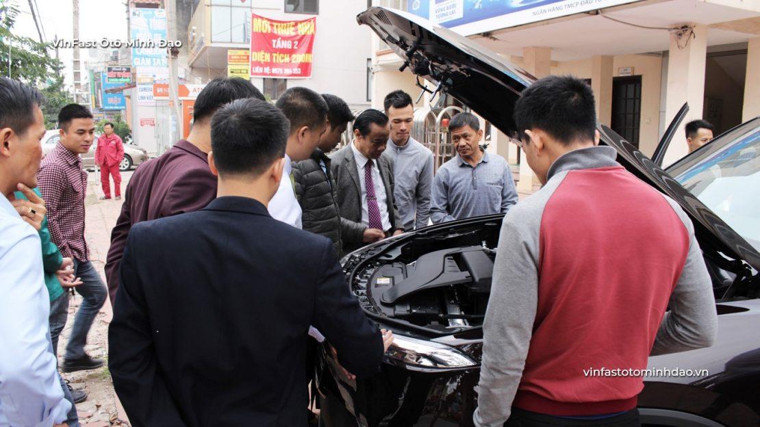 VinFast Vĩnh Phúc chương trình lái thử xe