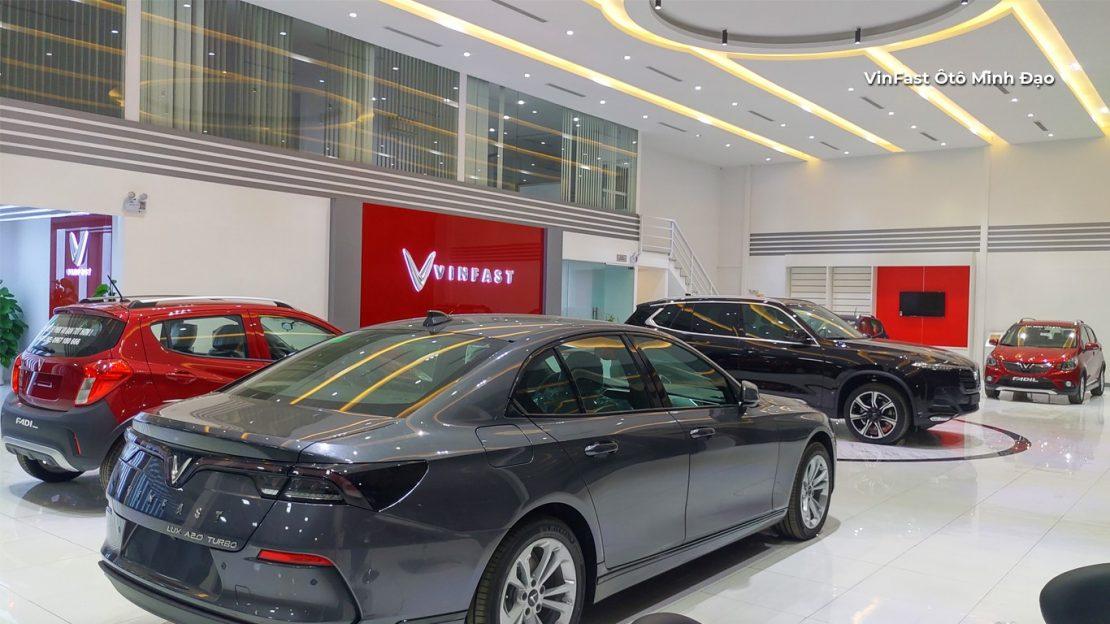 VinFast Tuyên Quang - Đại lý ô tô VinFast giá tốt
